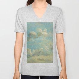 "John Constable ""A Cloud Study"" 5. Unisex V-Neck"