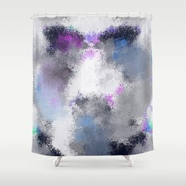 Galatic Light Shower Curtain