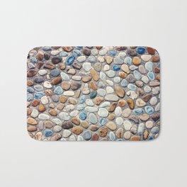 Pebble Rock Flooring V Bath Mat