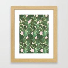 Prickly Pattern Framed Art Print