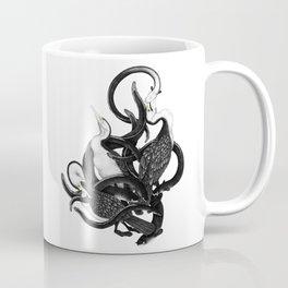 New Zealand pied Shags and Eels Coffee Mug