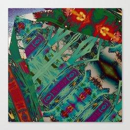 Bombay Remix Canvas Print