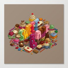 Sweet Love Canvas Print