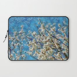 Blossom and Blue Sky In Monet Style Laptop Sleeve
