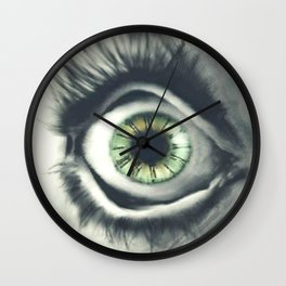 Time is in the Eye of the Beholder Wall Clock