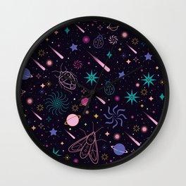 Bug Galaxy Wall Clock
