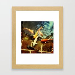 Stop Being so Koi Framed Art Print