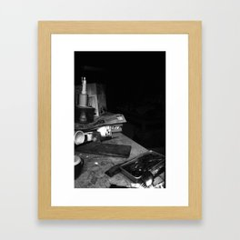 Quite a mess Framed Art Print