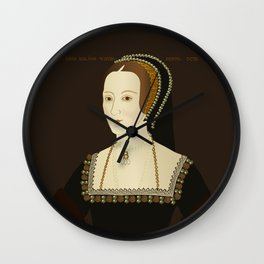 Anne Bolyen illustration Wall Clock