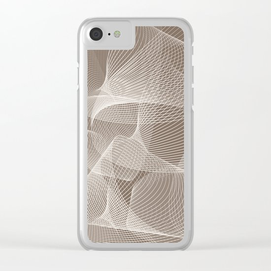 Abstract pattern 12 Clear iPhone Case