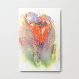Pepper Kester's Fire Opal Metal Print