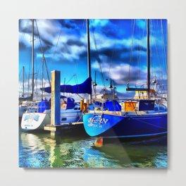 Elan Sailboat Metal Print