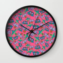 Mariposas de Frida Wall Clock