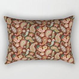 Vector Paisley Repeat Rectangular Pillow