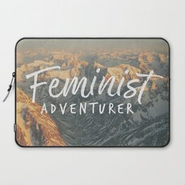 Feminist Adventurer Laptop Sleeve