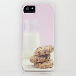 milk and cookies iPhone Case