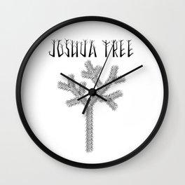 Joshua Tree Raízes by CREYES Wall Clock
