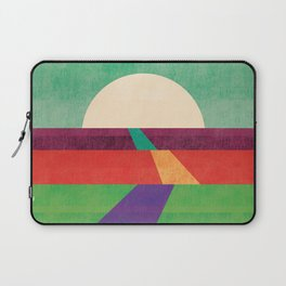 The path leads to forever Laptop Sleeve