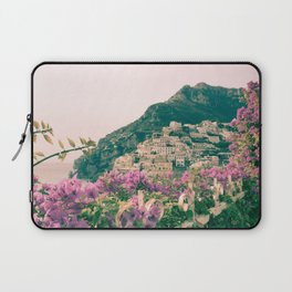 Flowers in Positano, Italy on the Amalfi Coast Laptop Sleeve