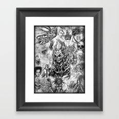 Sketch Compilation Framed Art Print