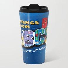 Greetings from Subcon Metal Travel Mug