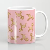 giraffes Mugs featuring Giraffes! by Kashidoodles Creations