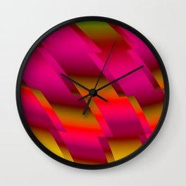 Abstract 105 DDR Wall Clock