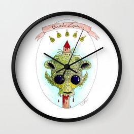 Greedo Liqueur Wall Clock