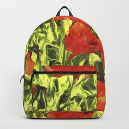Poppys Van Goth Art Backpack