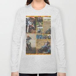 Motocross Collage Long Sleeve T-shirt
