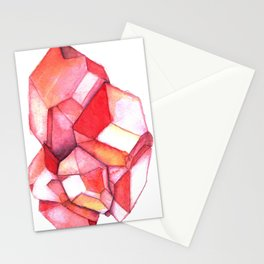 January Birthstone - Garnet Stationery Cards
