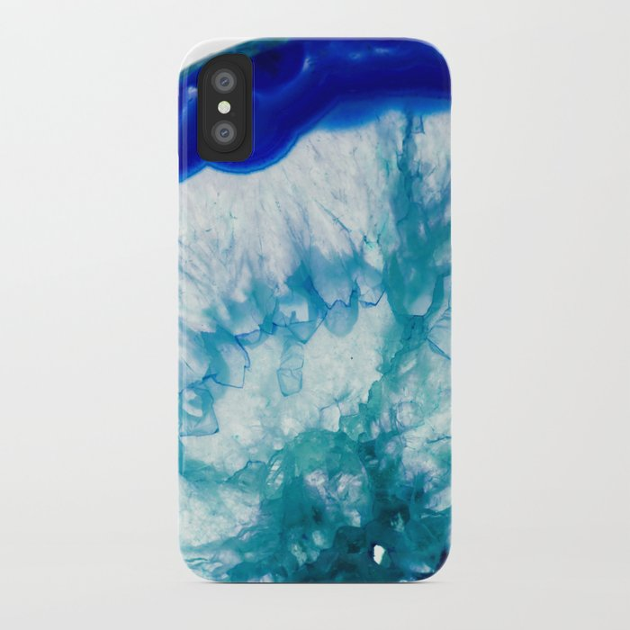 the best attitude 2e39c de75e Nuclear blue agate iPhone Case