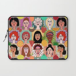 the colors of women Laptop Sleeve