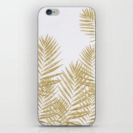 Fern Golden iPhone Skin