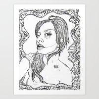 artpop Art Prints featuring ARTPOP by Justine Kessler