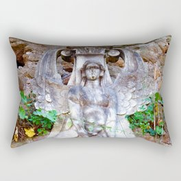 Sphinx in Roma - Saturated Rectangular Pillow