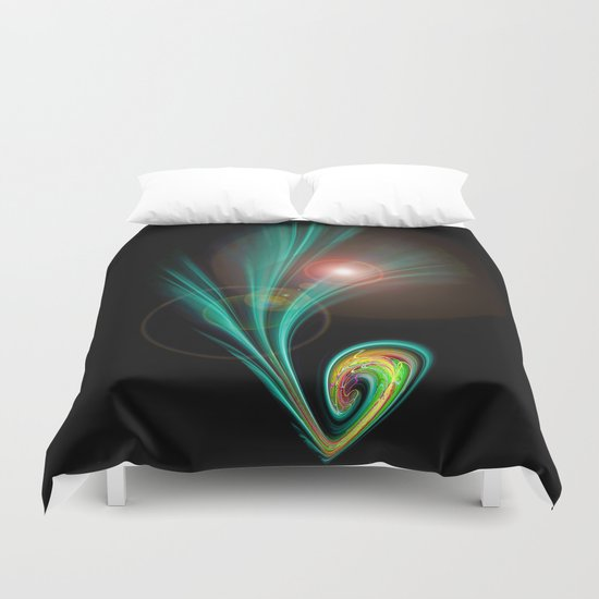 Magical Light and Energy 2 Duvet Cover