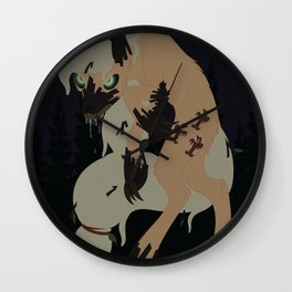 Applewolf Wall Clock