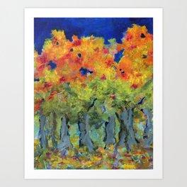 Brilliant Autumn Art Print