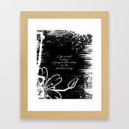 John Keats - Life is but a Day Framed Art Print