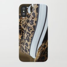 Converse leopard All Stars iPhone X Slim Case