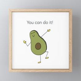 You can do it! Framed Mini Art Print