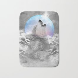 Maybe the Wolf Is In Love with the Moon Bath Mat