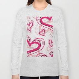 Heart Pattern 01 Long Sleeve T-shirt