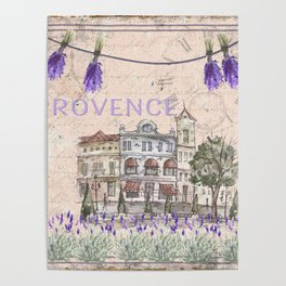 Provence France - my love  - Lavender and Summer Poster