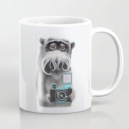 Titi Monkey Taking a Selfie / Mono Emperador se hace un selfie Coffee Mug