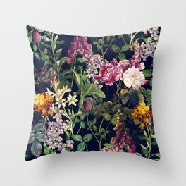 Midnight Forest VII Throw Pillow