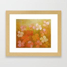 Golden Offspring Framed Art Print