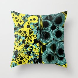 Aquatic Submerged Throw Pillow