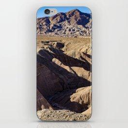 View towards Granite Mountain in the Anza Borrego Desert State Park, California, USA iPhone Skin